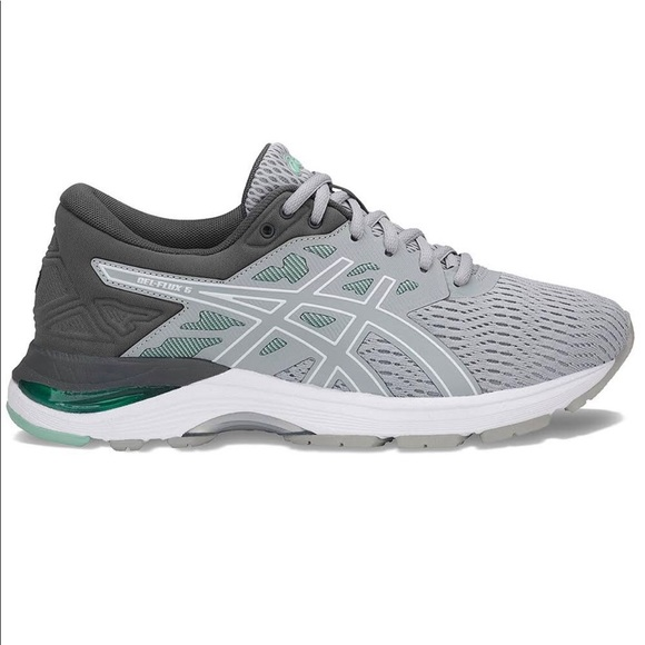 NET ASICS GEL Flux 5 Women's Running Shoes T862N D NWT